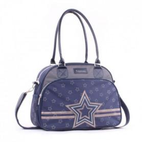 KIDZROOM Sac a Langer Shining Star Bleu