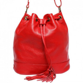 MAIA PARIS - LYSSA Sac a main rouge