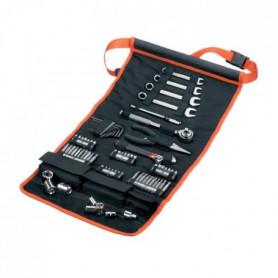 BLACK & DECKER Sacoche enroulable avec 76 accessoires