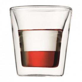 BODUM CANTEEN Set 6 verres double paroi 0.1