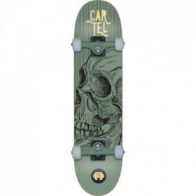 """CARTEL Skateboard 7,8"""" - Mixte - Vert métallisé"""