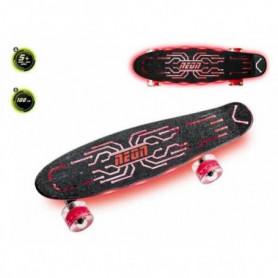 NEON - SkateBoard Neon Hype Rouge