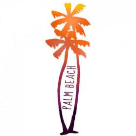 PLAGE Sticker Décor mural adhésif 3XL - Palm beach