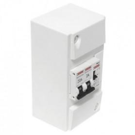 DEBFLEX Tableau électrique pré-cblé pour chauffe-eau
