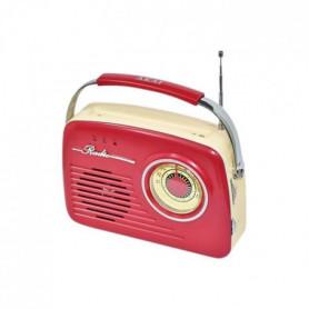 AKAI AR-78R Transistor Radio Vintage - Rouge