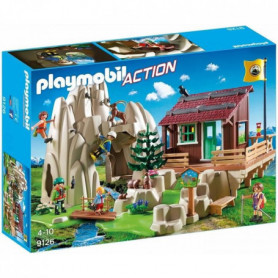 PLAYMOBIL 9126 - Action - Rocher d'Escalade