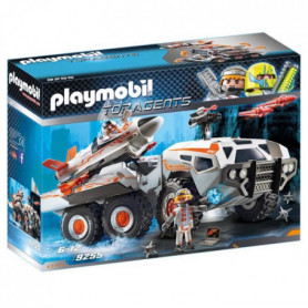 PLAYMOBIL 9255 - Top Agents - Camion et Navette