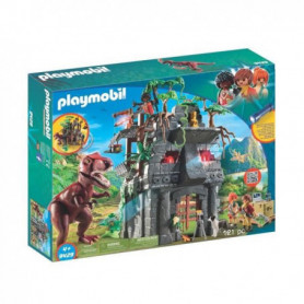 PLAYMOBIL 9429 - Dinos - Campement des Explorateur