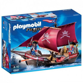 PLAYMOBIL 6681 - Pirates - Chaloupe des Soldats