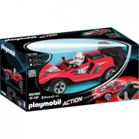 PLAYMOBIL 9090 - Action - Voiture de Course Rouge