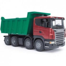 BRUDER - 3550 - Camion benne Scania R-serie