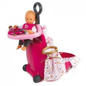 SMOBY Baby Nurse Valise Nursery 3 en 1 + Acs