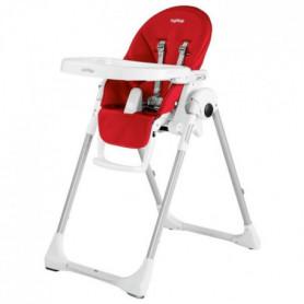 PEG PEREGO Chaise Haute Zero3 - Coloris Rouge