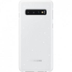Samsung Coque avec affichage LED S10 - Blanc