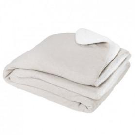 Plaid SWEET 150x200cm - 100% Polyester - Grege