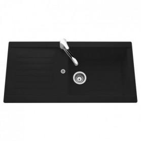 1 égouttoir Pandora - Résine - 100 x 50 cm - Noir