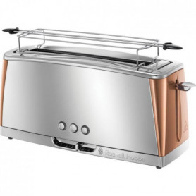 RUSSELL HOBBS Grille-pain Gris - Technologie Fast Toast