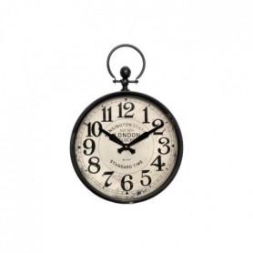 Horloge style gousset en métal - Ø 37cm