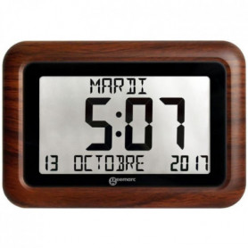 GEEMARC Horloge radiopilotée VISO 10 avec Cadre