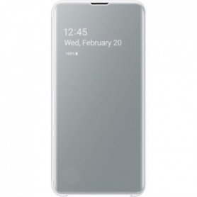 Samsung Clear View cover S10e - Blanc