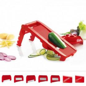 AD F21010 - Mandoline multi lames et rpes - Rouge