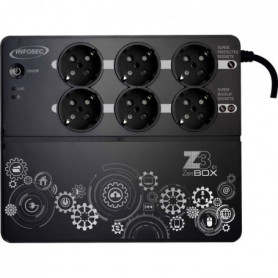 INFOSEC Onduleur  Z3 ZenBox EX 500 - 500 VA 6 Prises