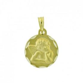 ORA -  Médaille Ange en Or Jaune 9 Carats - Enfant