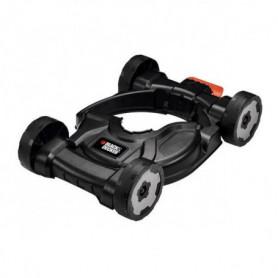 BLACK & DECKER Socle de tonte 4 roues 2
