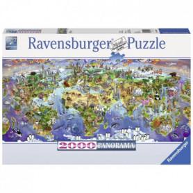 RAVENSBURGER Puzzle 2000 p - Merveilles du monde