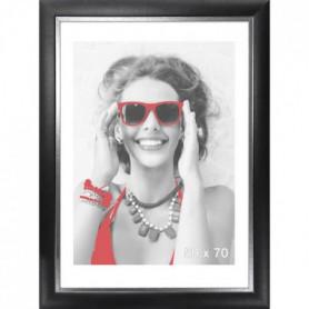 LYRICA Cadre photo 50x70 cm noir et argenté