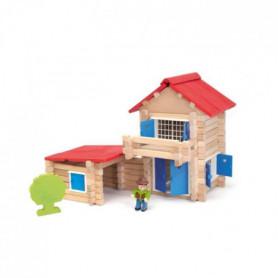JEUJURA La Maison En Bois - 140 Pieces