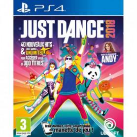 Just Dance 2018 Jeu PS4
