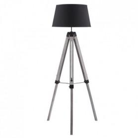 NATURE Trépied de lampadaire en bois gris - Ø65 x