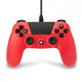 Manette Under Control filaire rouge 3m pour PS4