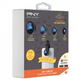 PNY The Lens Kit 4 en 1 Kit d'Objectifs pour Smart