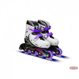 FUNBEE Rollers en ligne T1 avec roues LED