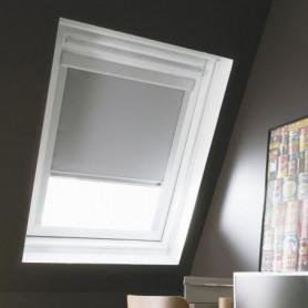 Store de fenetre de toit occultant gris VELUX C02/C04