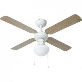 BESTRON Ventilateur De Plafond - 50W - 102cm - Bla