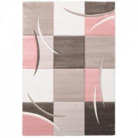 ELLA Tapis de salon 80x150cm - Pastel rose