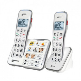 GEEMARC Téléphone sans fil grosses touches sénior