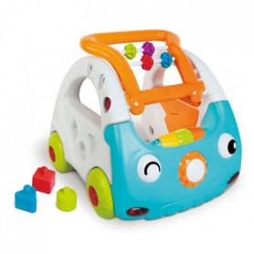 INFANTINO Mini car découverte 3 en 1 bleue