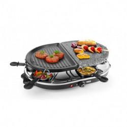 PRINCESS 162710 Appareil a raclette 8 personnes - Noir