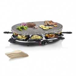 PRINCESS 162720 Appareil a raclette 8 personnes - Noir