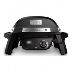 WEBER Barbecue électrique Pulse 1000 - Fonte d'acier émaillé