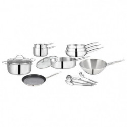 ART&CUISINE Set 15 pieces tous feux dont induction