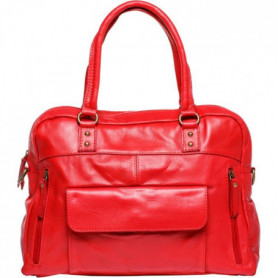 MAIA PARIS - PALOMA Sac a main rouge