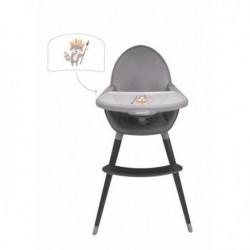 TANUKI Chaise haute ergonomique en bois Indio (2 positions)