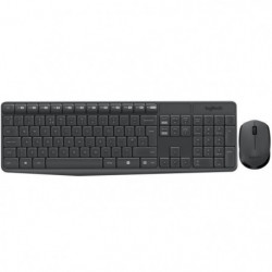 LOGITECH Ensemble Clavier Souris MK235 - Sans Fil - AZERTY