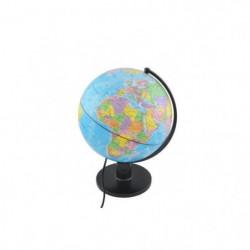 Globe terrestre illuminé - Diametre 25 cm