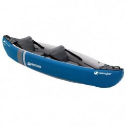 SEVYLOR Kayak Gonflable Adventure - 2 places - Bleu
